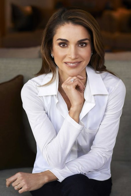Happy Birthday Queen Rania Of Jordan