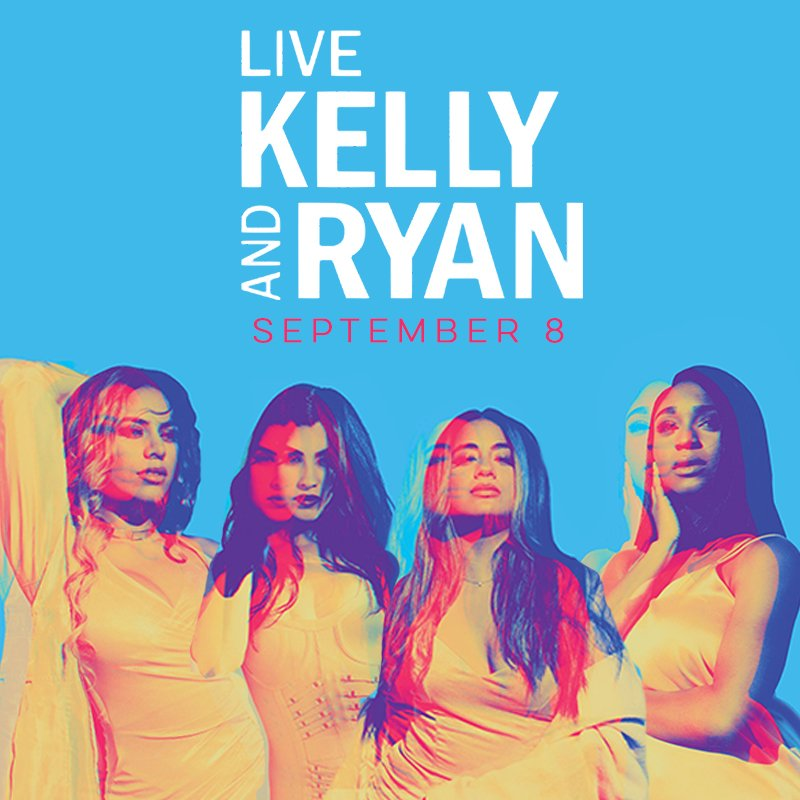 We're performing LIVE on @LiveKellyRyan September 8! Can't wait to see you @KellyRipa @RyanSeacrest �� https://t.co/VI01O6uAgf