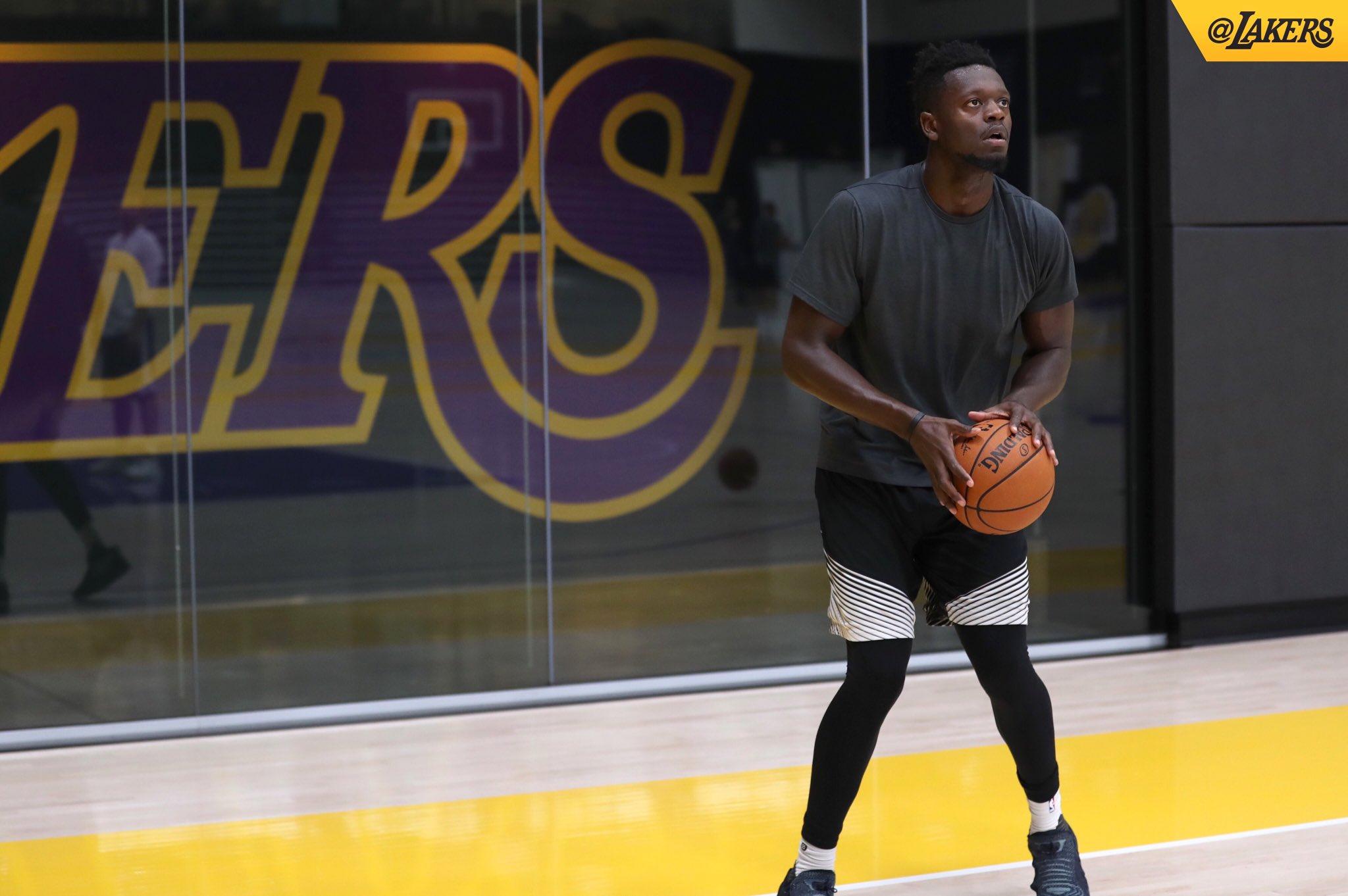 Always locked in. #LakersWork https://t.co/81XkJ6a5dy