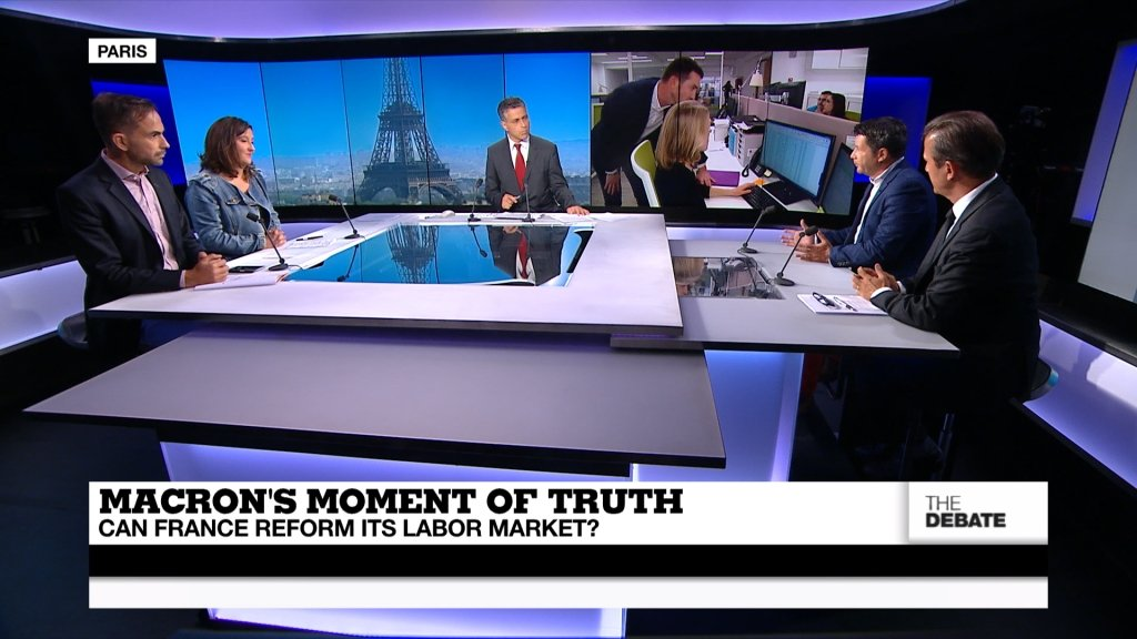 THE DEBATE - Macron's moment of truth: can France reform it's labour market?