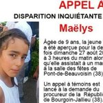 French police detain wedding guest in case of missing girl