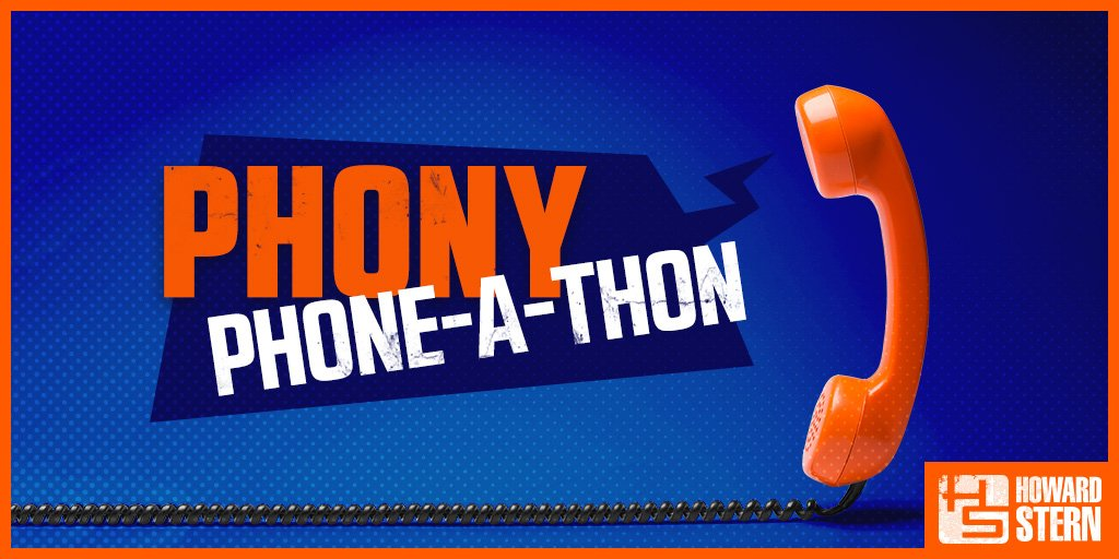 RT @sternshow: Don't miss the all-day Phony Phone-A-Thon on #Howard101 this #LaborDay! https://t.co/M6HwMfVPxo https://t.co/H01pJGgcQx