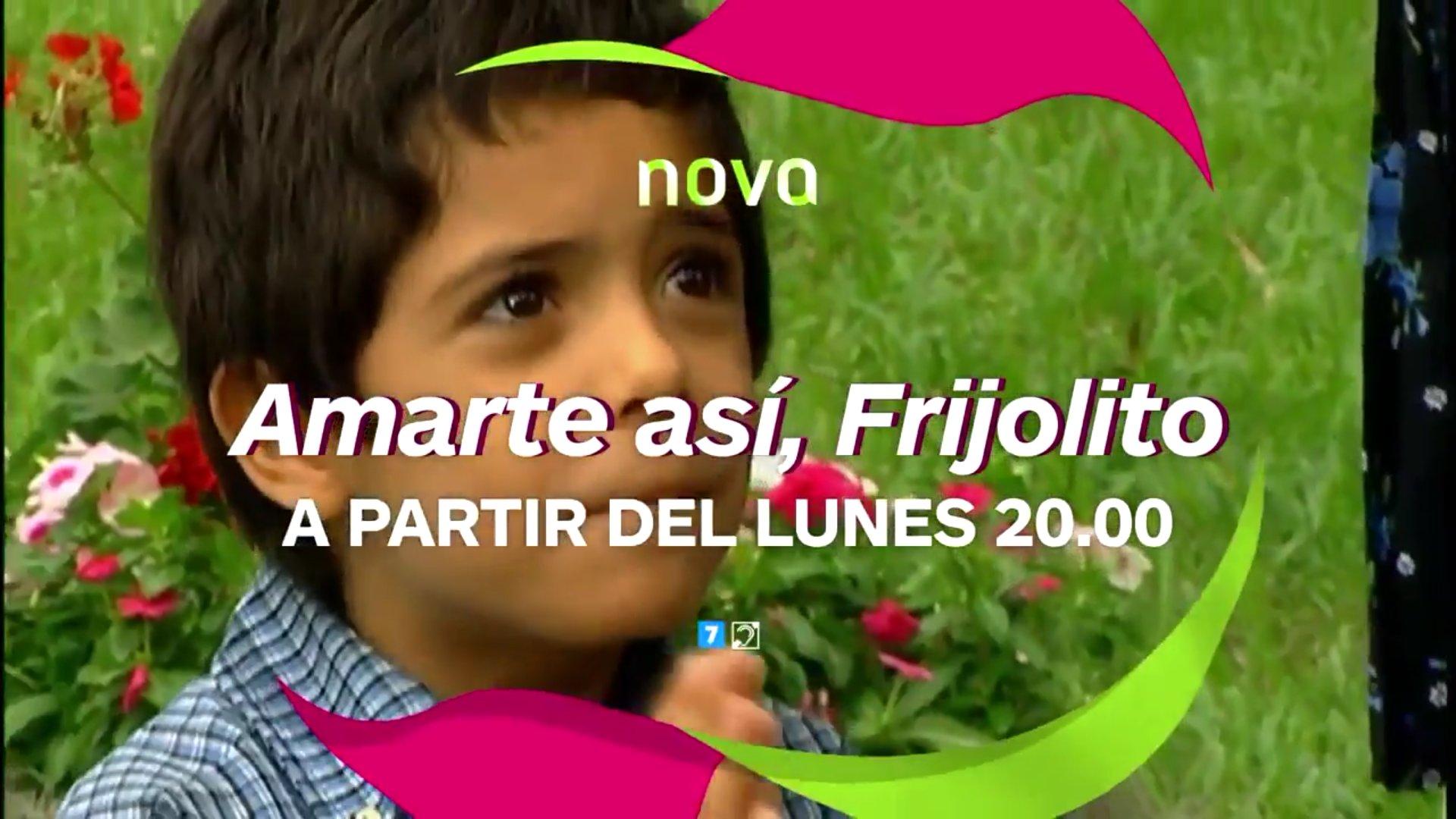 #AmarteAsíFrijolito , el Lunes 4 de Septiembre a las 20.00H  ~GRAN REGRESO~ en @NovaTDT (España). !Regresa un éxito! @LitzyOficial https://t.co/XxDRTAtqZc