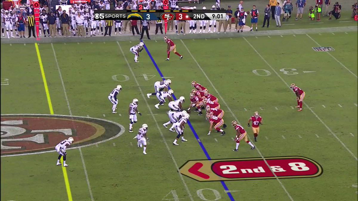 RT @49ers: Beathard to the 🏠! CJ goes the distance to put the #49ers up 10-3. 💨 #LACvsSF https://t.co/2iHixx5DN3