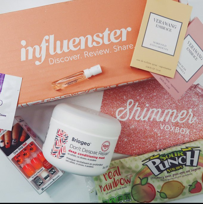 Thanks @influenster! Can't wait to try all of these products out! Can't beat free! #influenster #influenstershimmer #shimmervoxbox https://t.co/mZFsF6oVnm