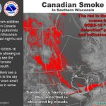 Smoke from Canada wildfire makes its way into Stateline
