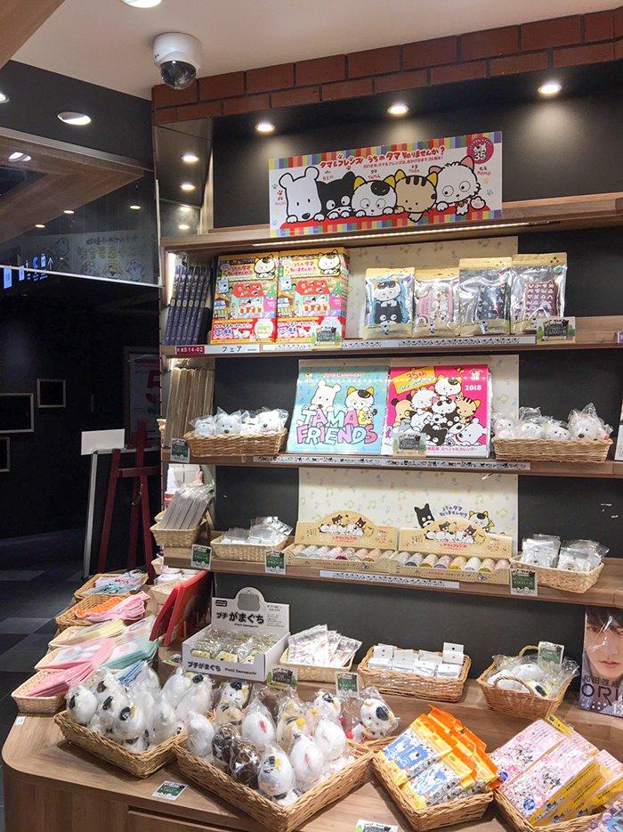 三省堂書店池袋本店にて本日から『タマ&フレンズ~うちのタマ知りませんか?~』フェア開催!来年の壁掛けカレンダーも早々に登
