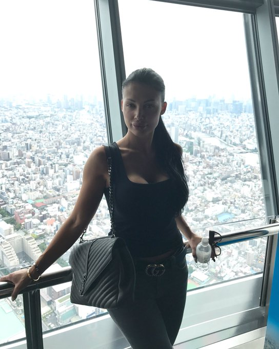 At the Skytree Tokyo https://t.co/hpbPteJVRY
