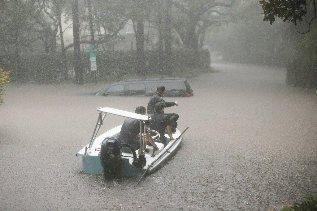 Berlin officer, CCMC nurse helping storm victims inTexas