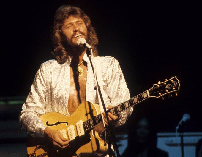 Happy Birthday to Barry Gibb, born Sep 1st 1946