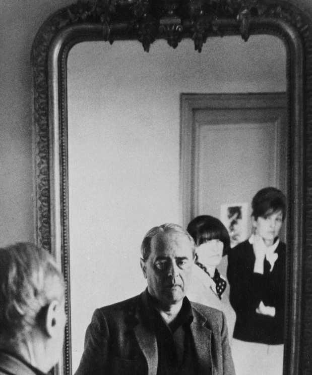 """""""El espejo: ese adelantado sudar"""