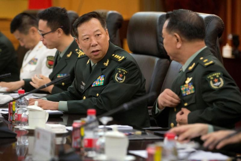 China names new commanders for army, air force in reshuffle