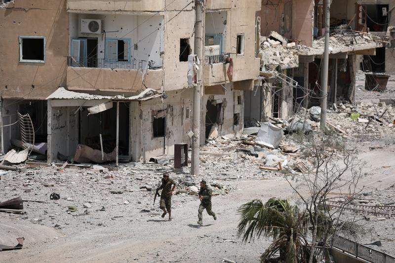 U.S.-backed forces in Syria's Raqqa say they take old city