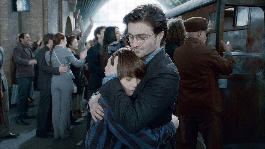 Harry Potter fans are flooding King's Cross Station to celebrate 19YearsLater: All is well.