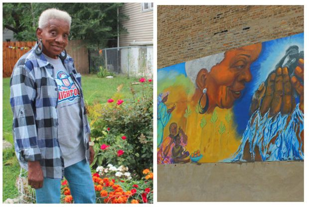 She's an Englewood treasure, so artist surprises her with mural — OF HER! https://t.co/9dvSAxeSDD https://t.co/0yabFe5zz7