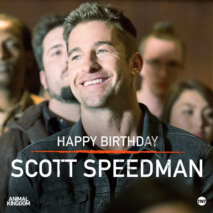 Happy Birthday, Scott Speedman! You re one filthy animal.