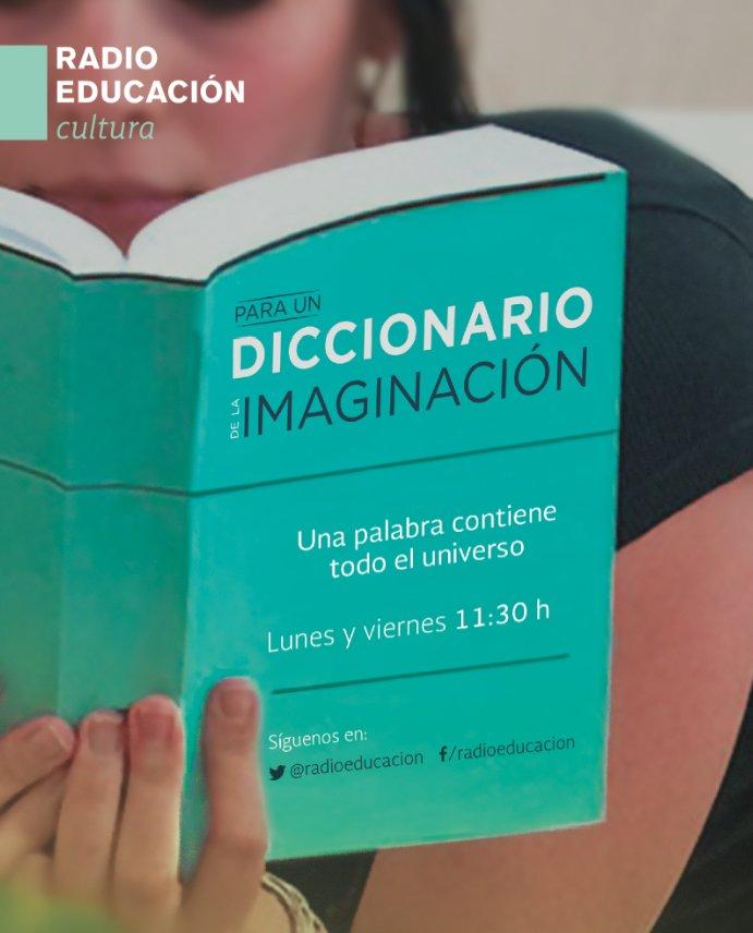 Cierra tus ojos y escucha 'Para un diccionario de la imaginación' a las 11:30 h https://t.co/T9jrRGtprQ https://t.co/6nmzpWlUcI