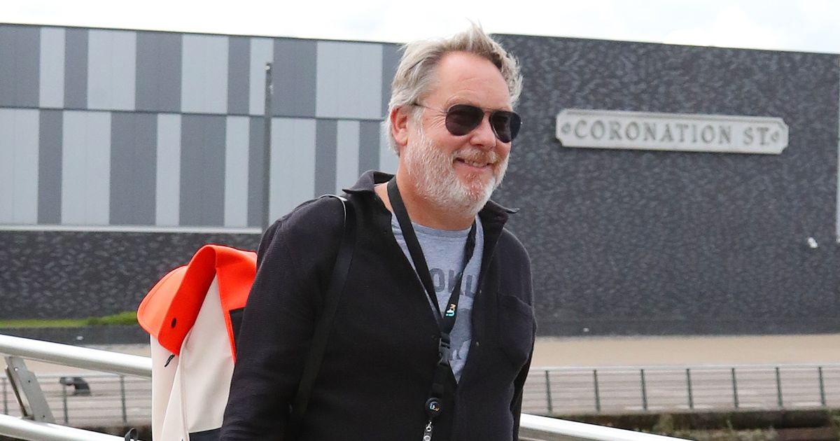 Vic Reeves achieves lifelong ambition as he films first scenes on Coronation Street