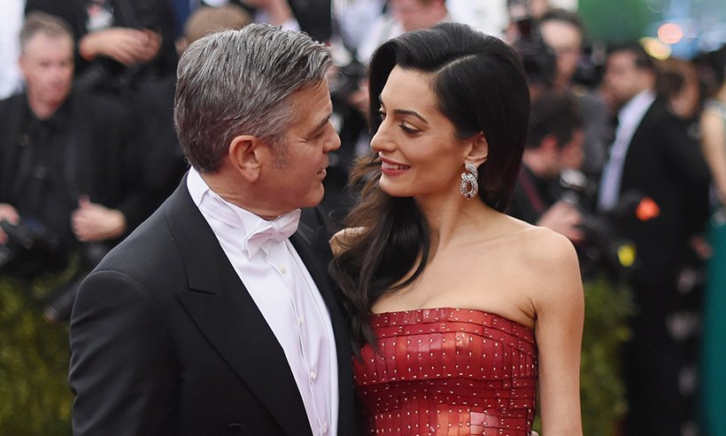 George Clooney & wife Amal have returned to Venice ahead of their third wedding anniversary: