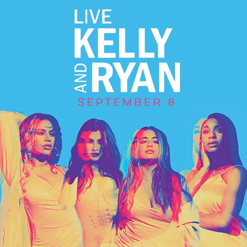 Harmonizers! Our @FifthHarmony girls are performing LIVE on @LiveKellyRyan Sept 8. You don't want to miss it ���� https://t.co/cM2YqbA4nj