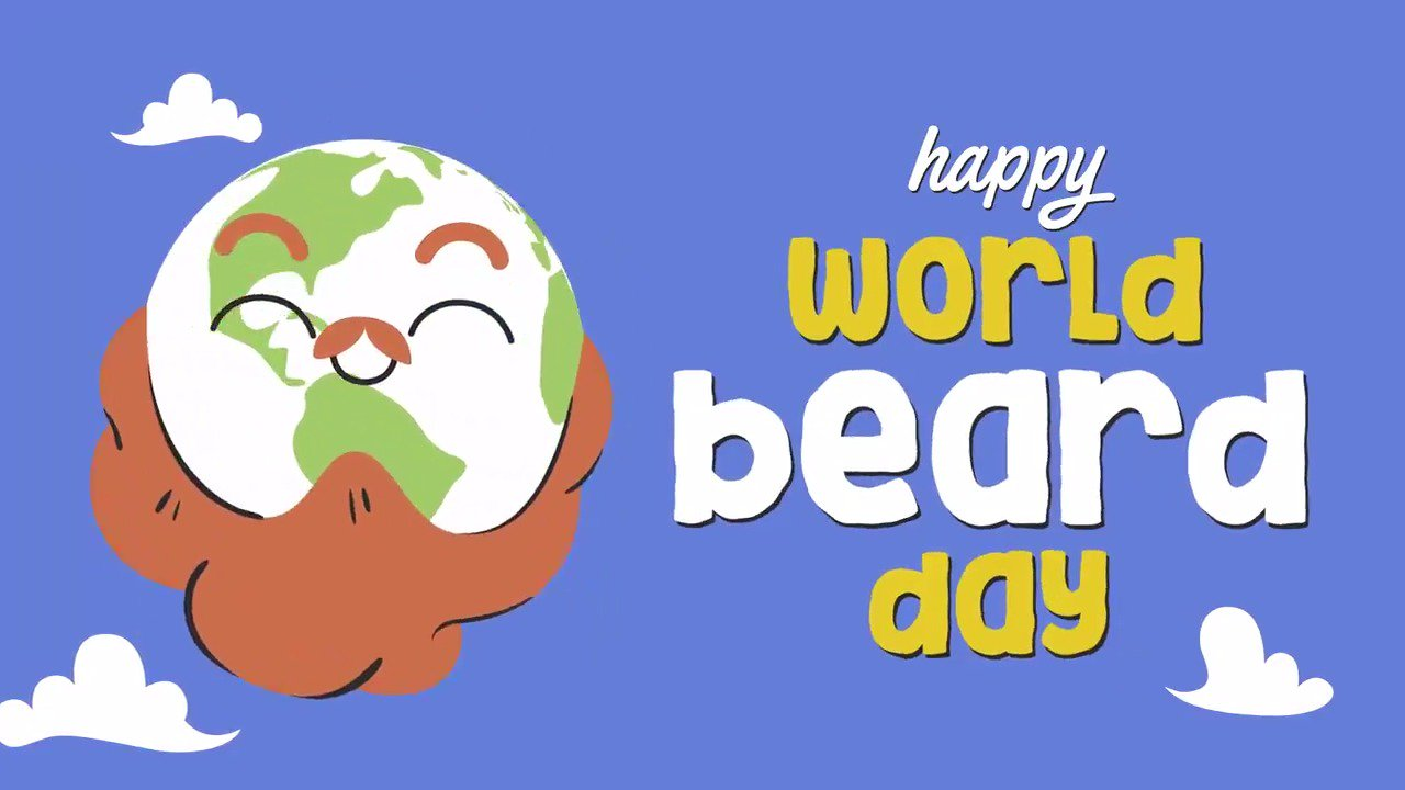 Happy #WorldBeardDay! Enjoy. https://t.co/V4zPHKDIjE