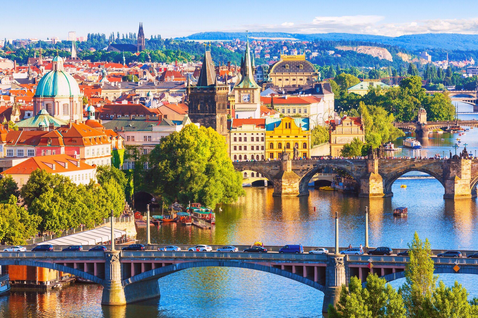 Bridges of Prague, #Czechia https://t.co/yoh0abd9TE