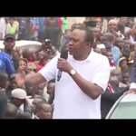 Kenyatta mtaani baada ya Matokeo ya uchaguzi mkuu kufutwa