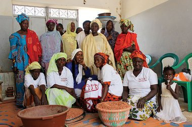 She's giving job opportunities to other women in Senegal – with peanuts