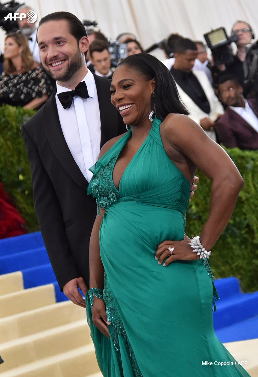 Serena Williams fue madre por  serena williams