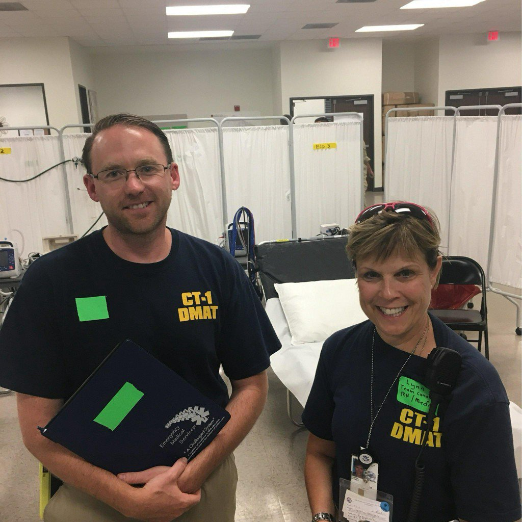 At A Field Hospital In Texas, Connecticut Helps Out