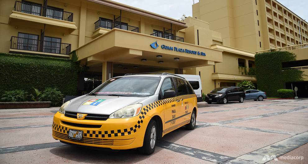 In Guam, taxi drivers aren't worried about ride-sharing apps