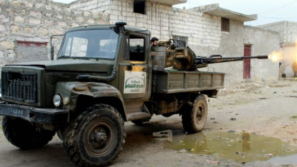 Syria rebels back opposition plan for a 'national army'