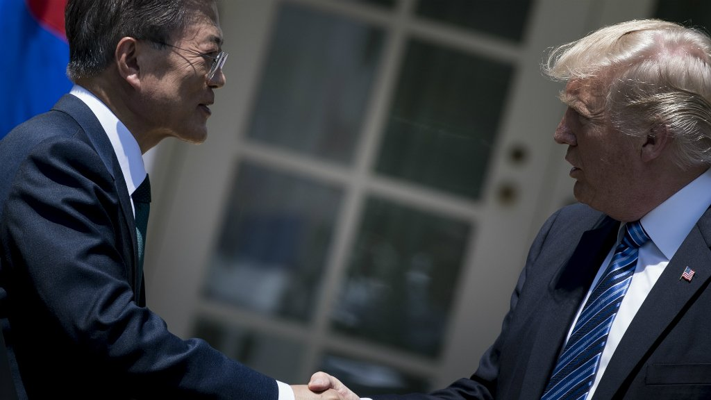 United States and South Korea agree to boost Seoul's missile capabilities