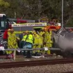 Man dies after Perth train track crash