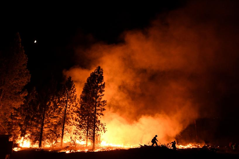 California governor declares wildfire state of emergency