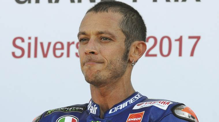Valentino Rossi leaves hospital after surgery on brokenleg