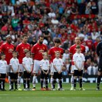 Manchester United and Barcelona Legends hold minute's silence in memory of terror attack victims