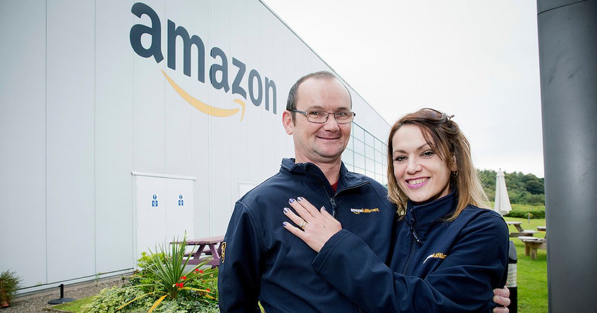 Amazon worker is reunited with her lost engagement ring - after customer finds it in parcel 200 miles away