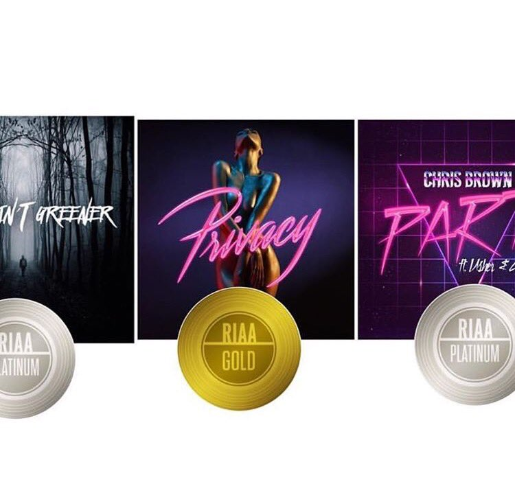 2 platinum singles, 1 gold before the album. ������������❤️ LOVE YALL https://t.co/uqXYYr0w4O