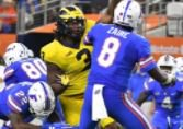 Florida running back's words fire up Michigan's D