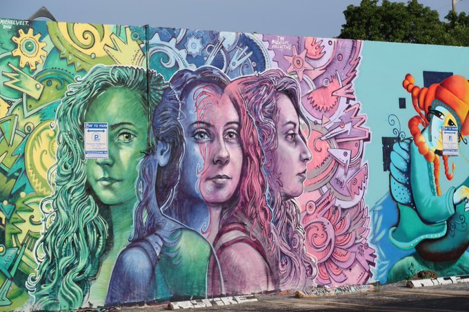 1 pic. Some nice #graffiti #art from today's walk in #Wynwood district 😍🤘❤️ #Miami https://t.co/Btbp