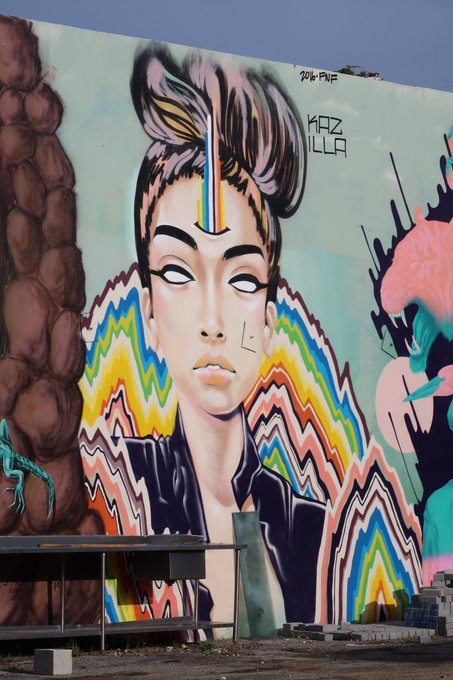 4 pic. Some nice #graffiti #art from today's walk in #Wynwood district 😍🤘❤️ #Miami https://t.co/Btbp