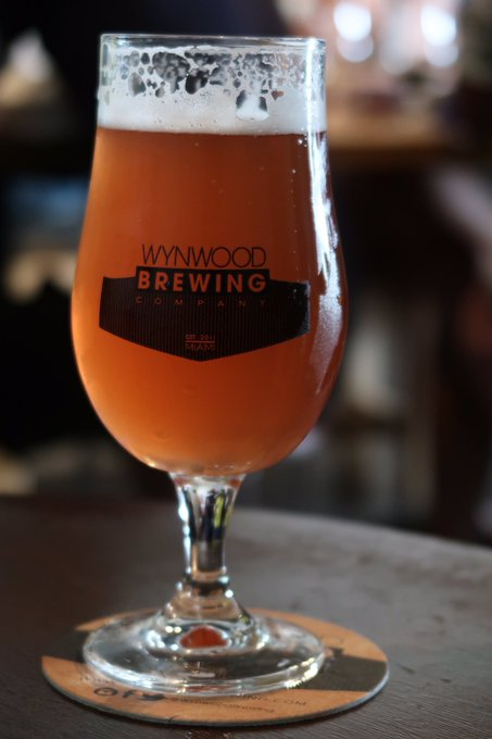 4 pic. It was so fun to discover the beer selection at @WynwoodBrewing https://t.co/L8Bj8JDSyk