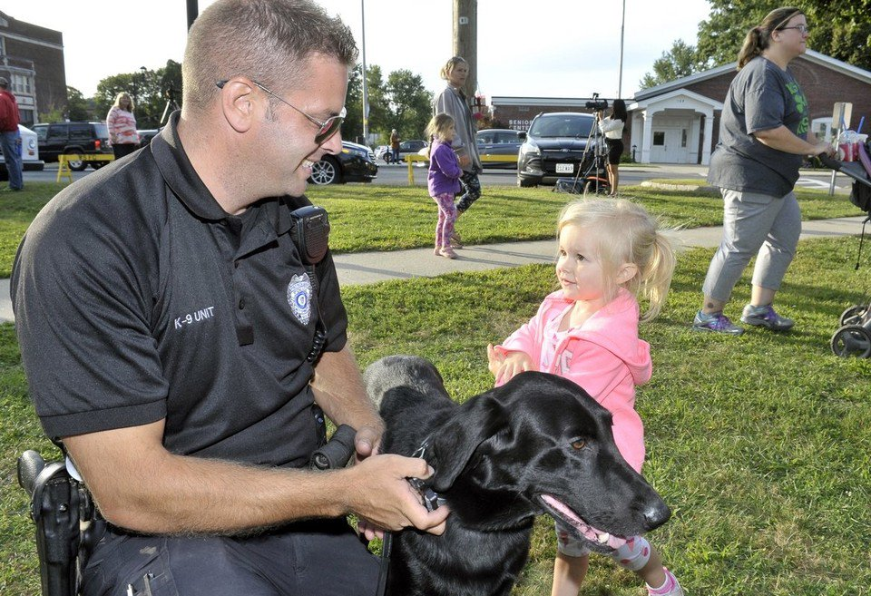 Seen@ The 3rd annual West Springfield Police Department's Community Block Party