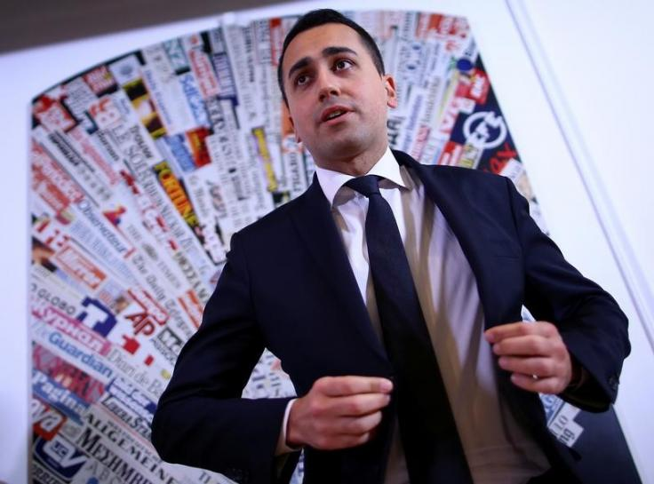 Italy's 5-Star says euro referendum would be 'last resort'