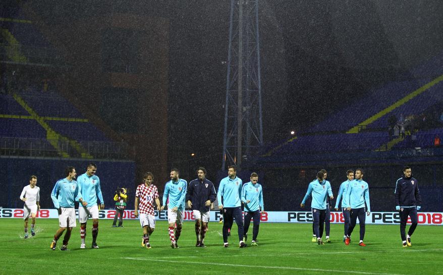 Abandoned Croatia vs Kosovo qualifier to resume on Sunday