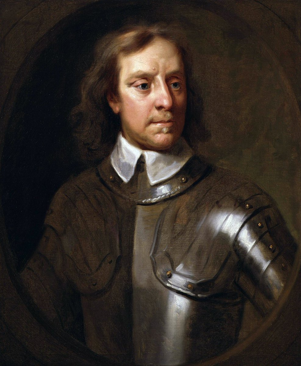 oliver cromwell tyrant of hero