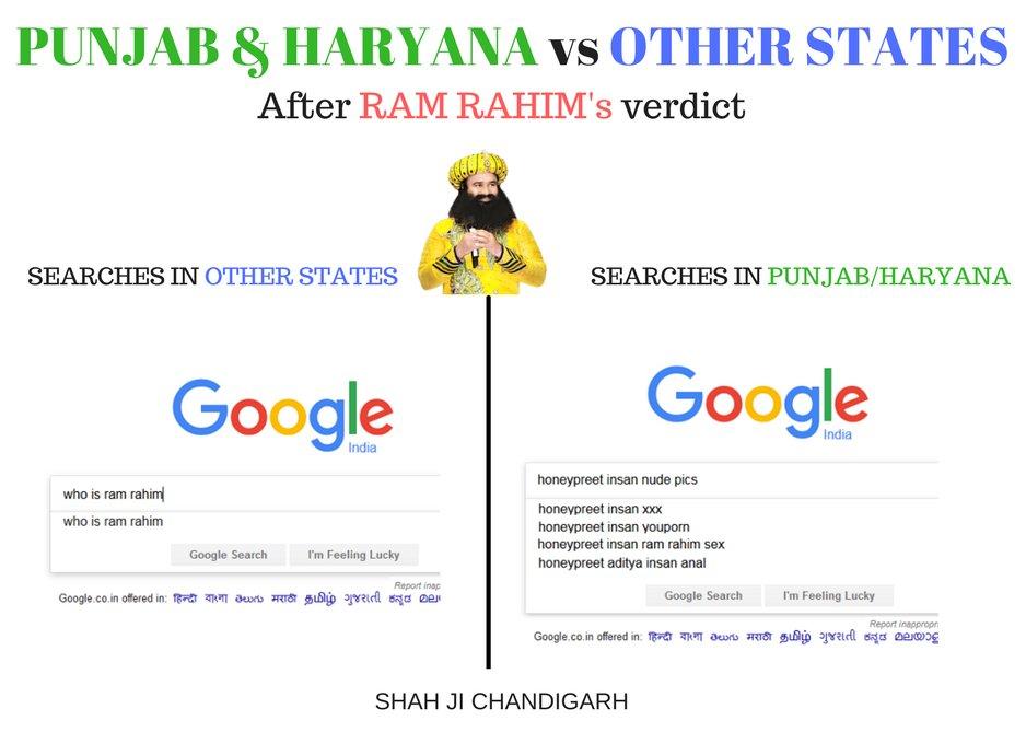 test Twitter Media - #Punjab #Haryana vs Other States after #ramrahimsingh verdict. #GurmeetRamRahimSingh #GURMEETRAMRAHIM  https://t.co/jNPWS62cRz https://t.co/OQv3HTmWnJ