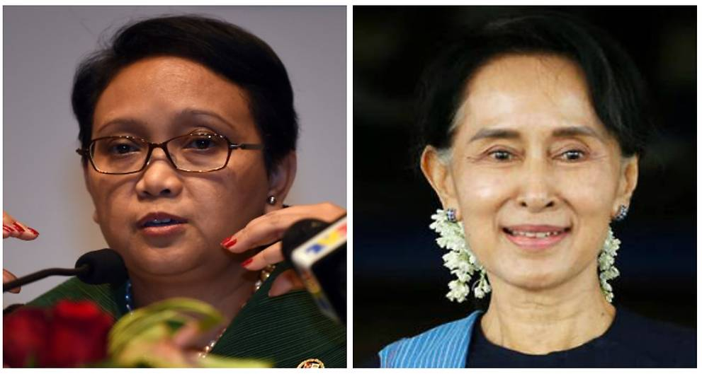 Indonesian foreign minister Retno Marsudi to meet Aung San Suu Kyi in Myanmar