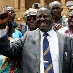 'We will not share power,' declares Kenyan opposition leader